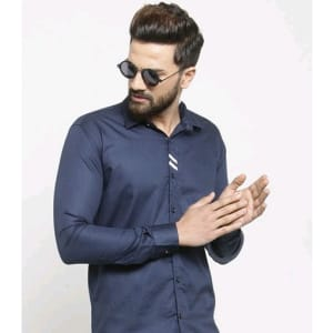 Men's Stylish Trendy Cotton Solid Shirts (2)