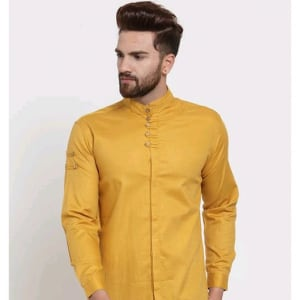 Men's Stylish Trendy Cotton Solid Shirts (1)