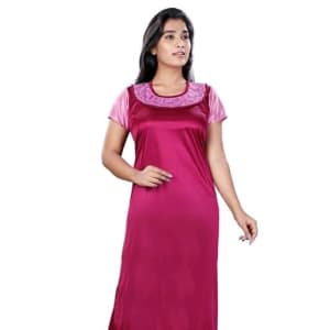 Women's Stylish Satin Nighties Vol 4