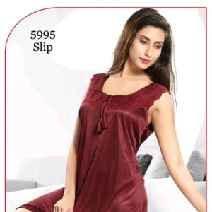 Women's Trendy Satin Short Nighties