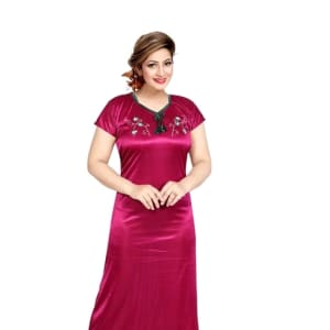 Women's Stylish Satin Night Gowns
