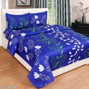Smart Buy Colorful Beautiful 3D Printed Double Bedsheets Vol 1 (11)