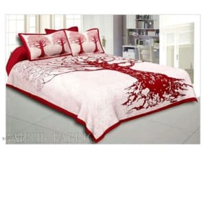 Imperial Comfortable Cotton Printed Double Bedsheets Vol 1 (4)