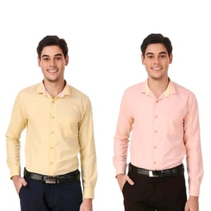 Men's Elegant Formal Shirts Combo Vol 2 (5)