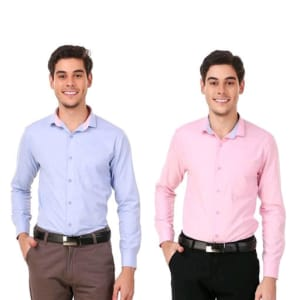 Men's Elegant Formal Shirts Combo Vol 2 (4)