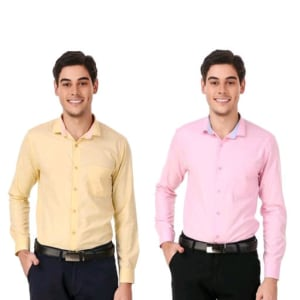 Men's Elegant Formal Shirts Combo Vol 2 (2)