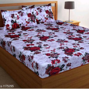Splendor Exotic Poly Cotton Double Bedsheets Vol 3 (1)