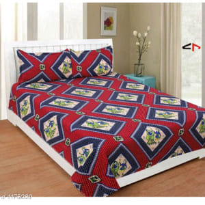 Splendor Exotic Poly Cotton Double Bedsheets Vol 3 (3)