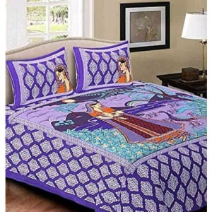 Jaipuri Decorative Printed Double Bedsheets Vol 6 (5)