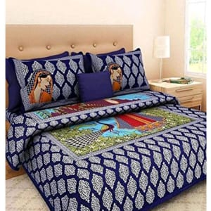 Jaipuri Decorative Printed Double Bedsheets Vol 6 (3)