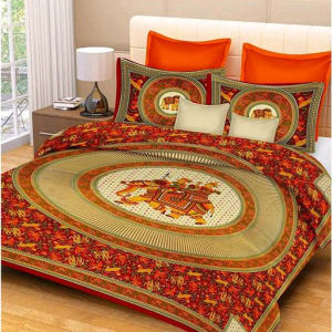 Jaipuri Decorative Printed Double Bedsheets Vol 6 (2)