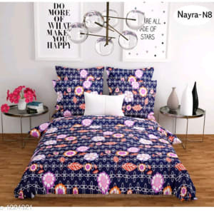 Stellar Latest Poly Cotton Double Bedsheets Vol 1 (13)