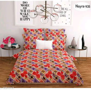 Stellar Latest Poly Cotton Double Bedsheets Vol 1 (2)