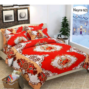 Stellar Latest Poly Cotton Double Bedsheets Vol 1 (3)