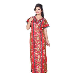 Ladies Cotton Printed Nighty
