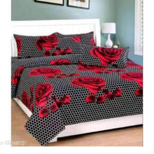 Stellar Latest Poly Cotton Double Bedsheets Vol 1 (4)