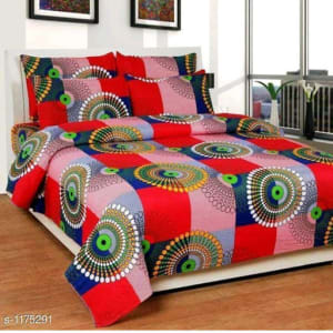 Splendor Exotic Poly Cotton Double Bedsheets Vol 3 (6)