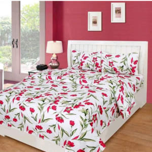 Splendor Exotic Poly Cotton Double Bedsheets Vol 3 (9)
