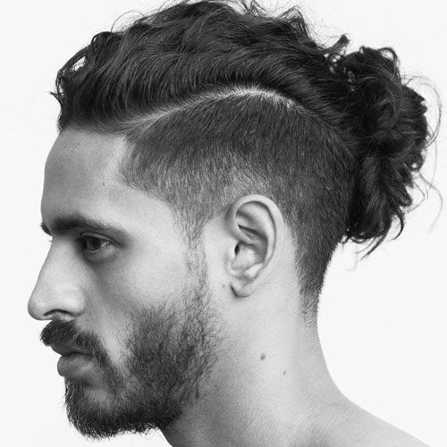 What is Man Bun hairstyle