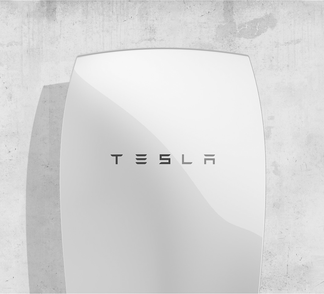 Rendering of Tesla Powerwall