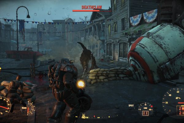Deathclaw Power Armour