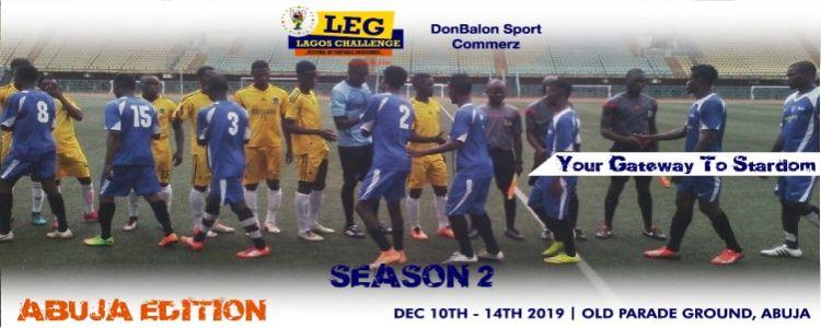 Leg Lagos Challenge 2019: Abuja Edition