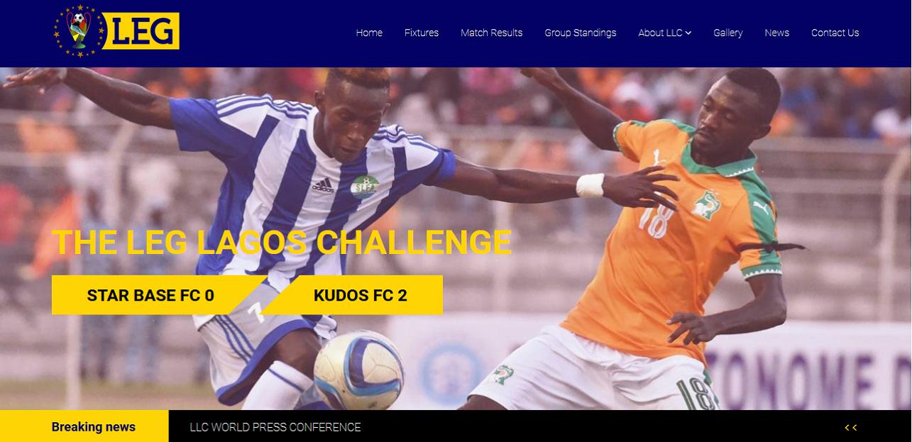 Leg Lagos Challenge Website thumbnail