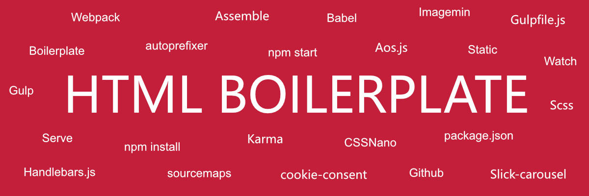 Static Website Boilerplate