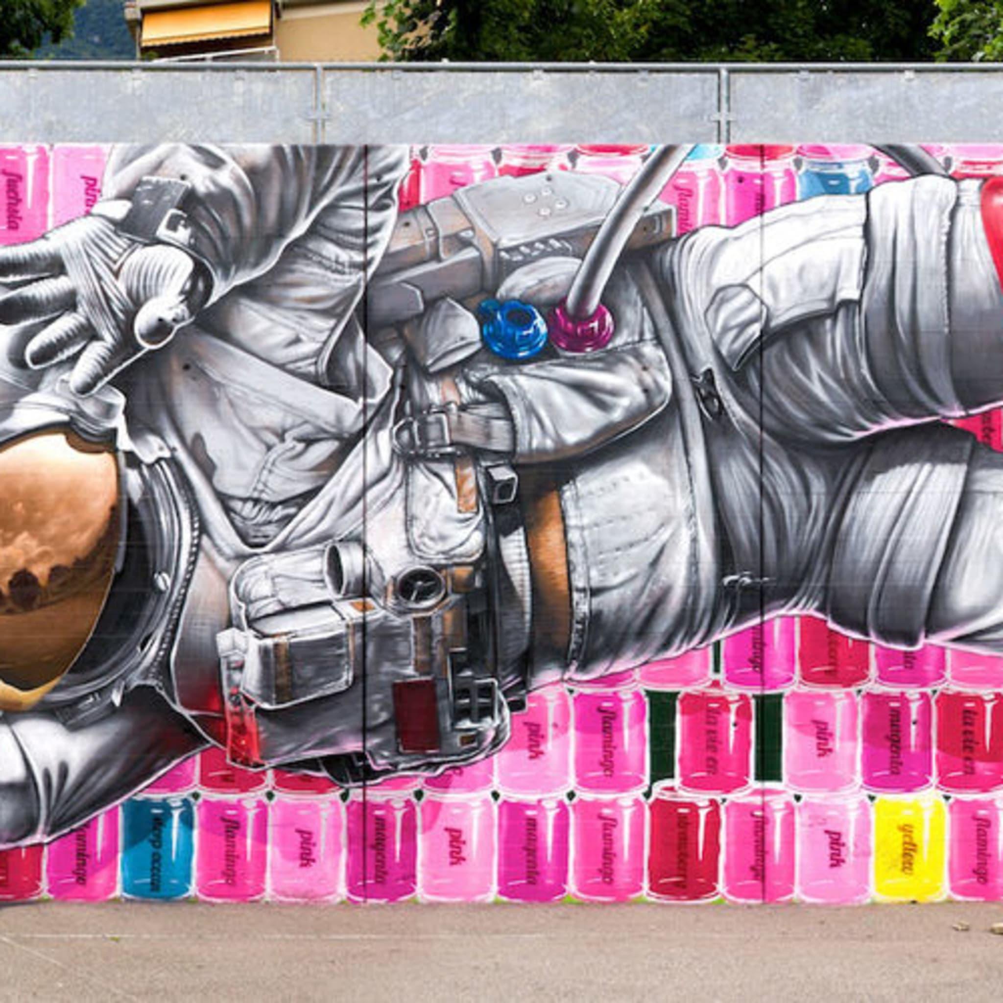 Œuvre Par NEVERCREW à Lugano