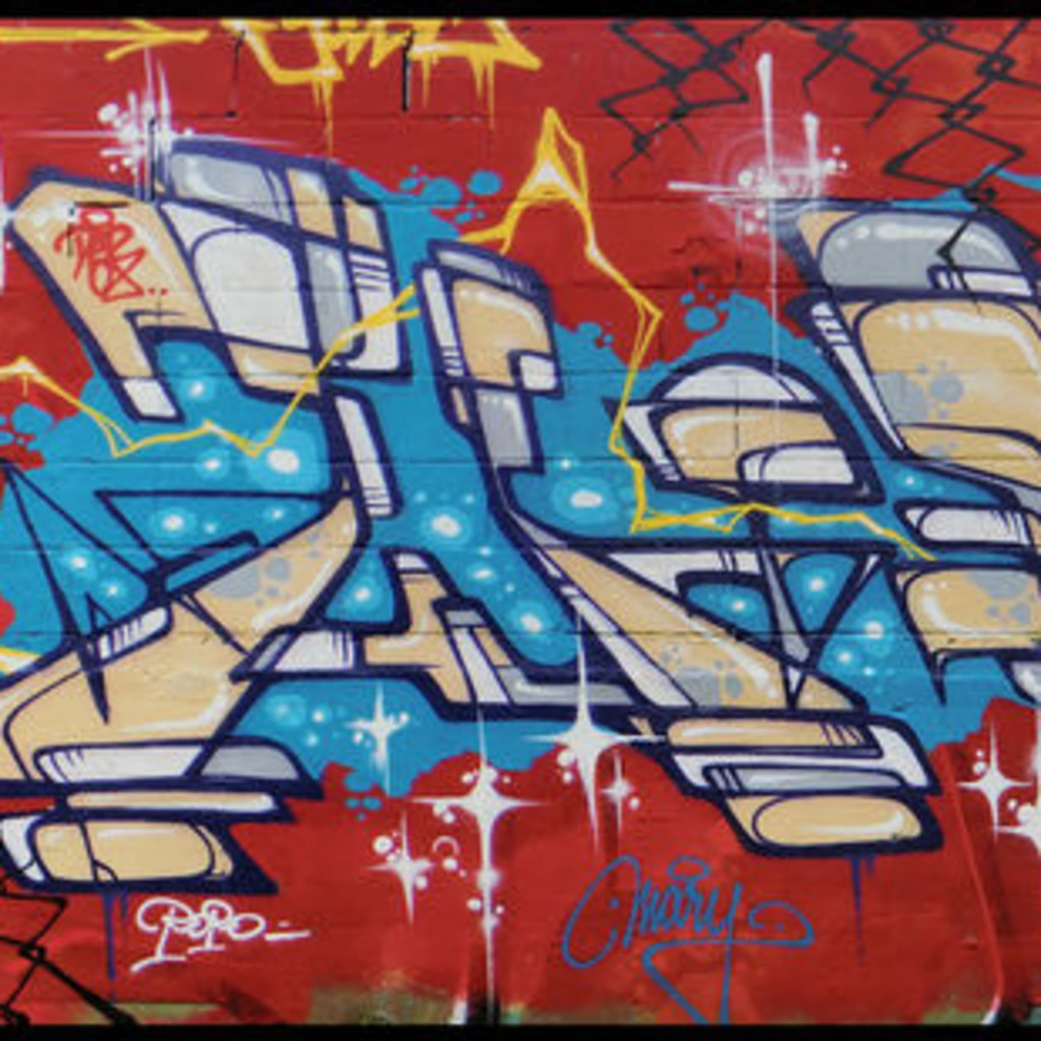 Artwork By Julien Seth Mailland in Bobigny