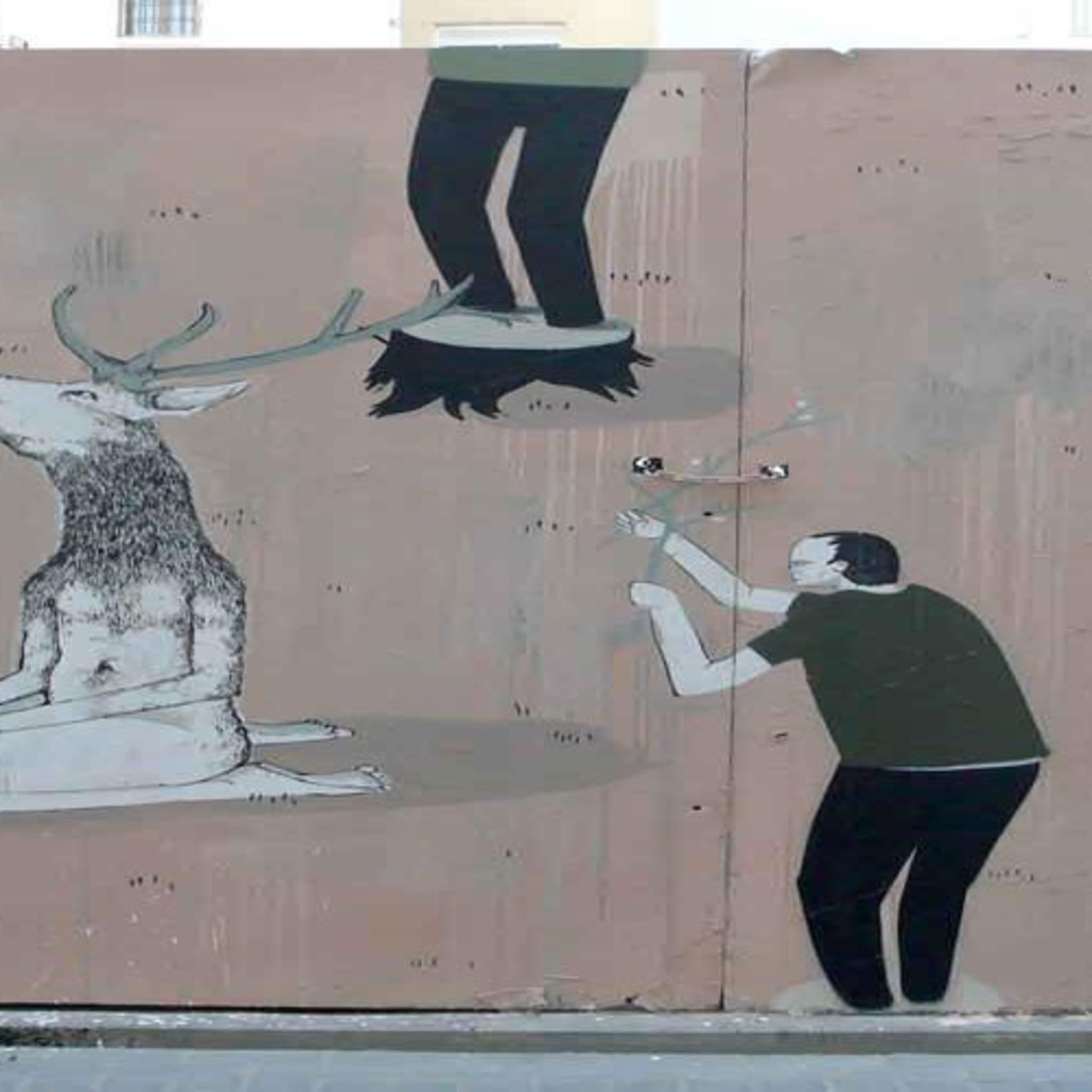 Œuvre Par Escif, Hyuro à Valence