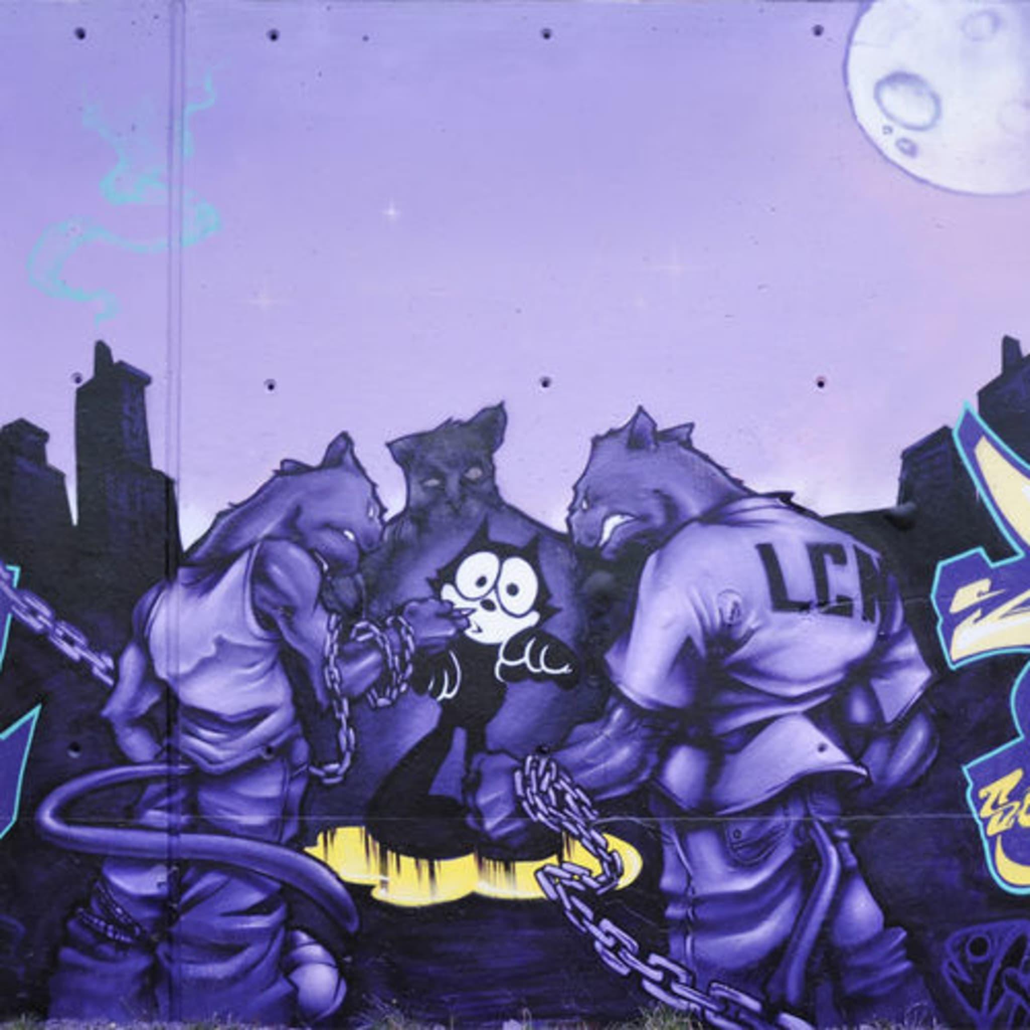 Artwork By Socrome in Saint-Denis