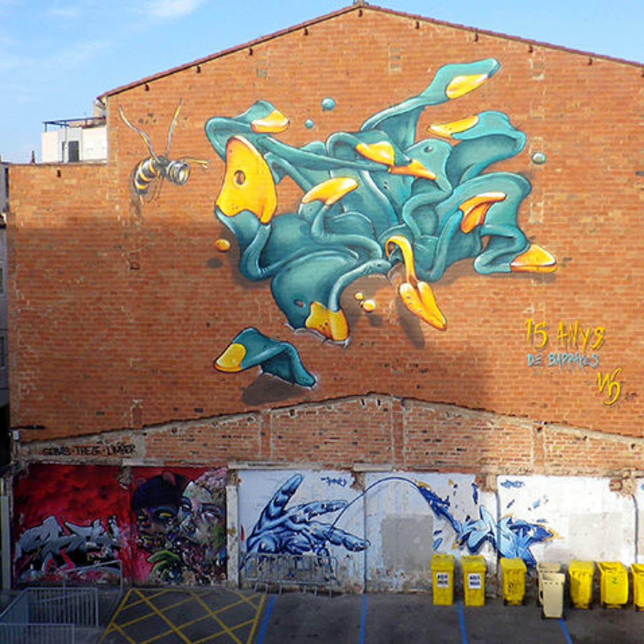 Œuvre Par Werens à Sabadell