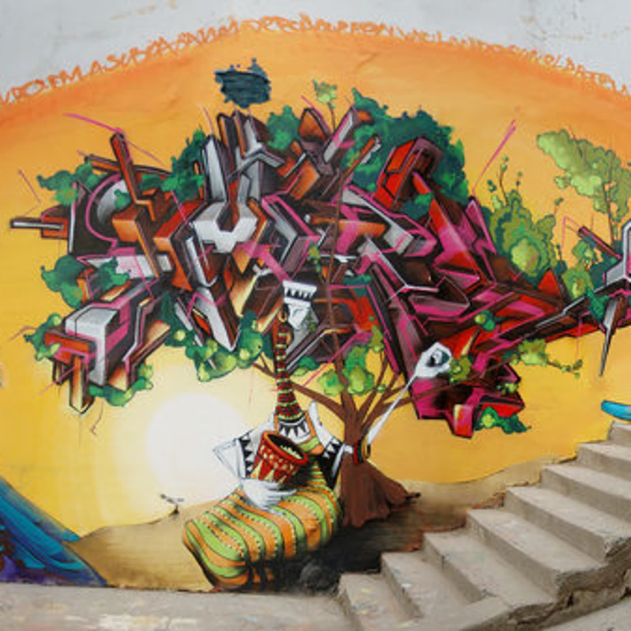 Œuvre Par inti à Valparaíso