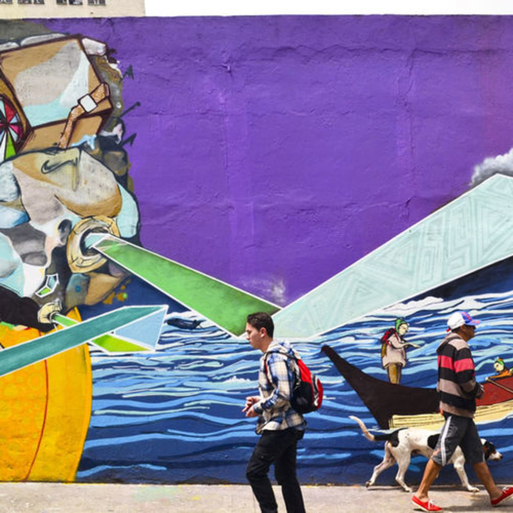 Œuvre Par Yurika, Cazdos à Bogota