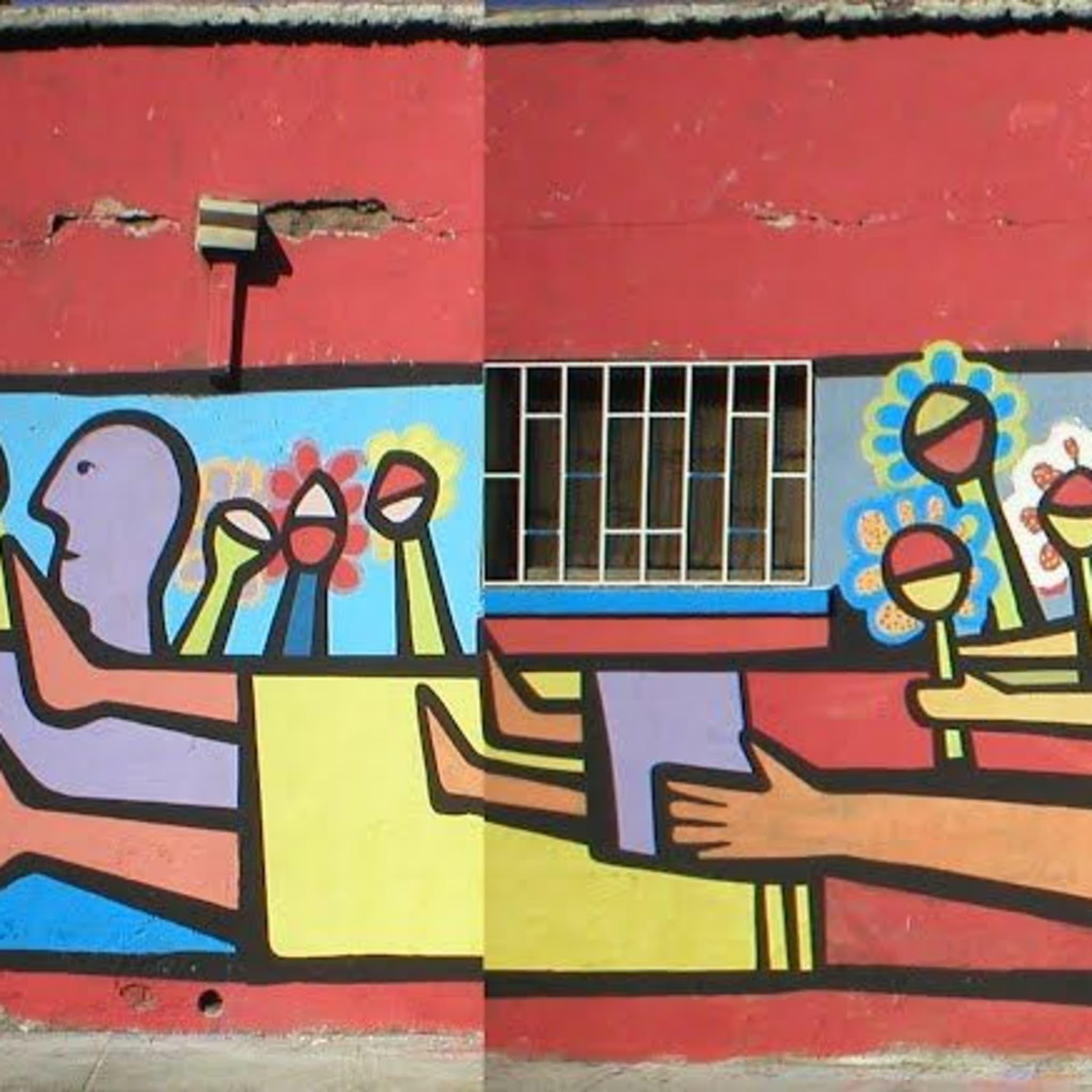Artwork By Mono González in Curicó