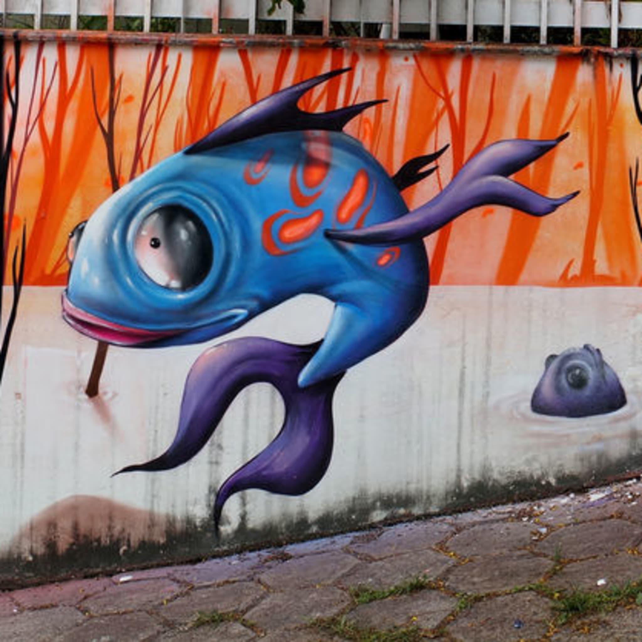 Œuvre Par Dalata, DMS à Belo Horizonte
