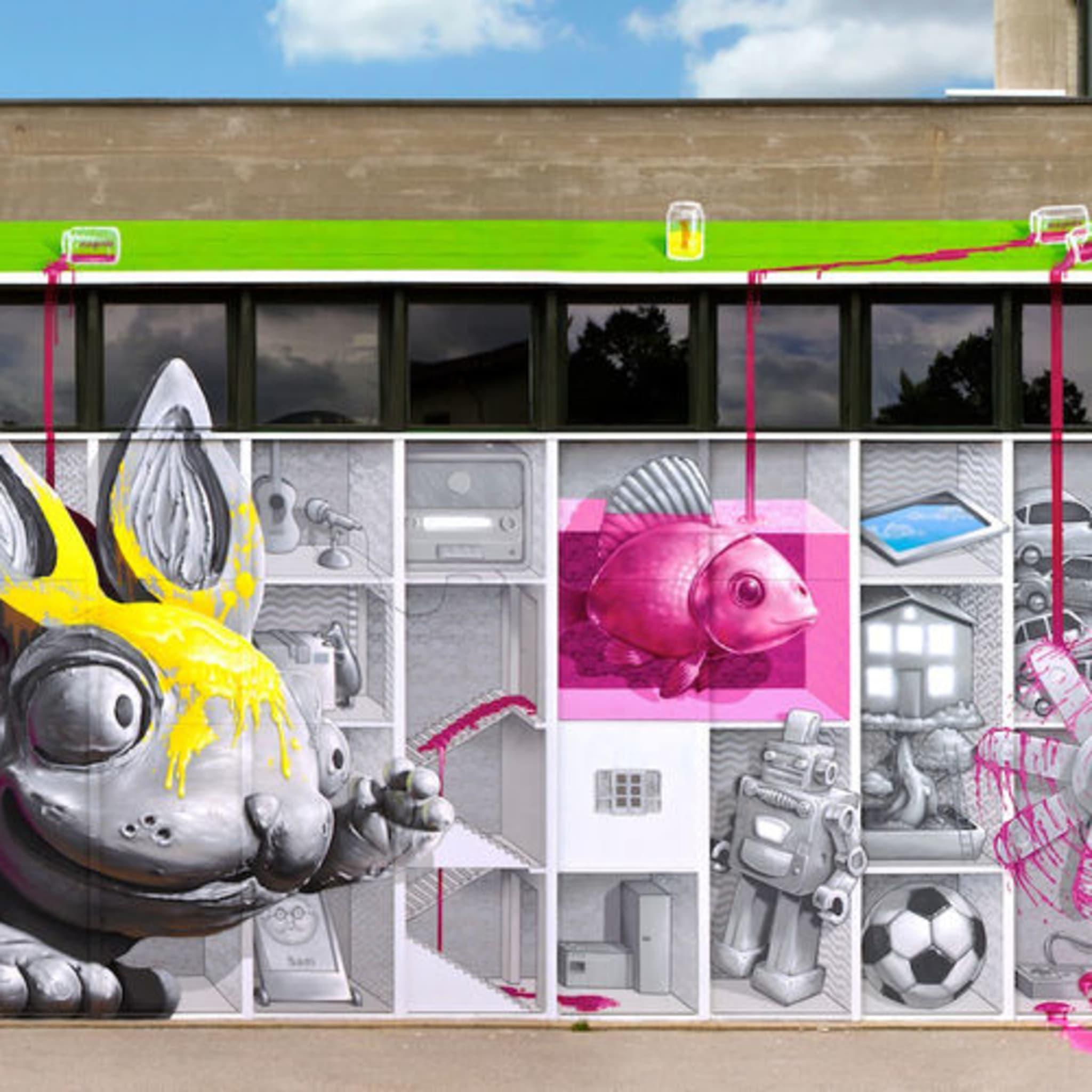 Artwork By NEVERCREW in Lugano