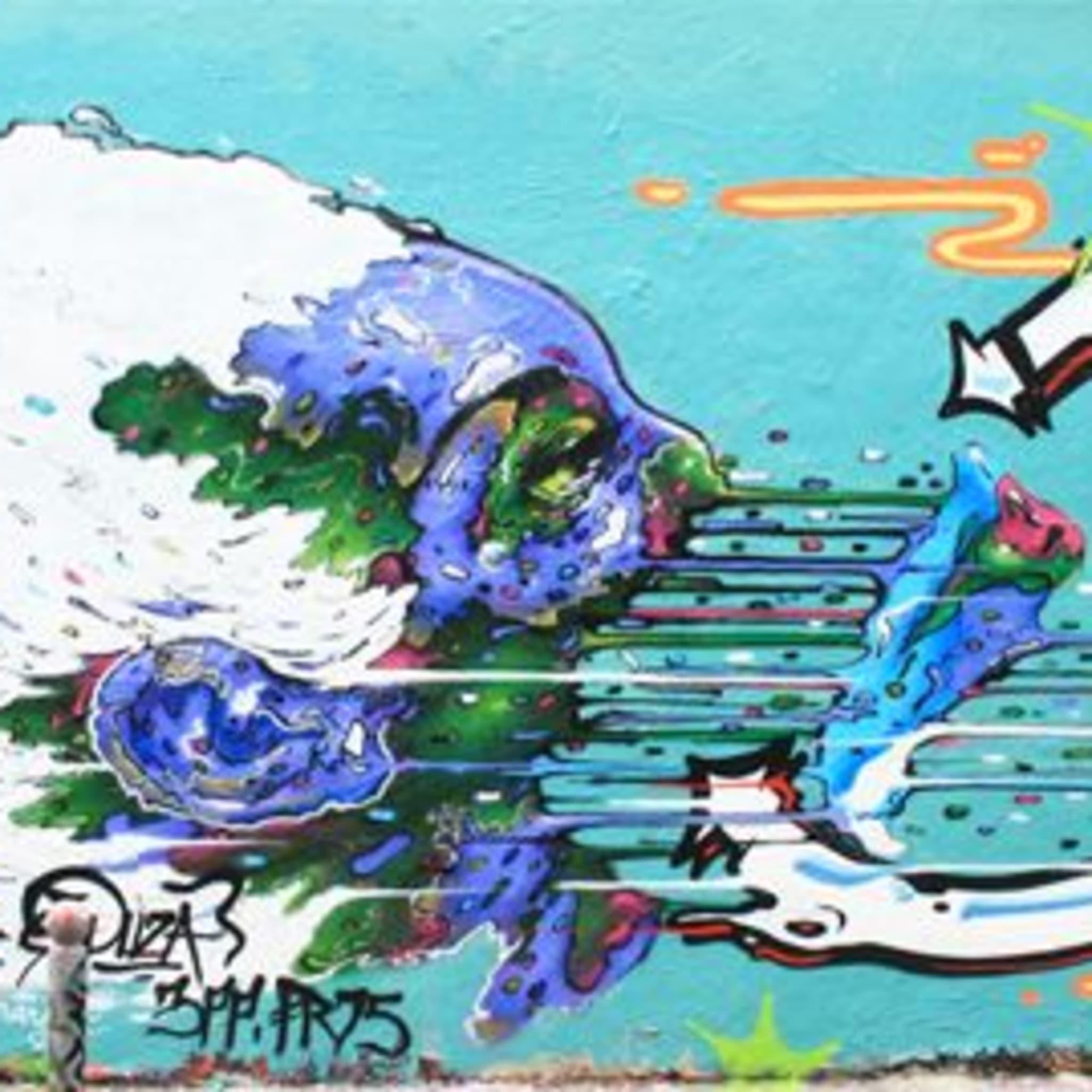 Œuvre Par Duza, TAER à Paris