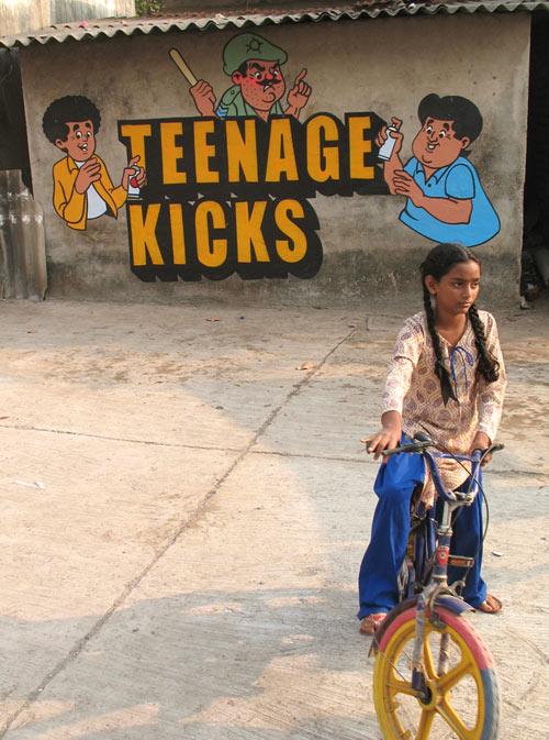 Œuvre Par Poch Rock à Bombay