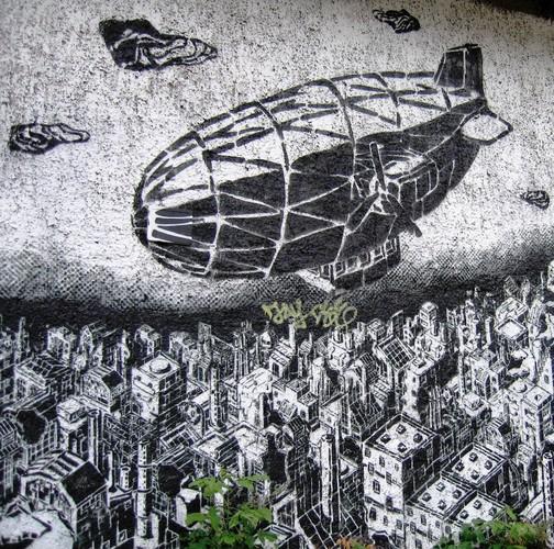 Artwork By M-City in Berlin