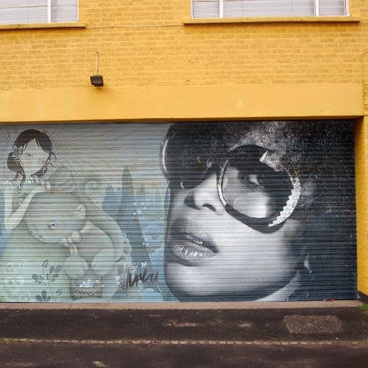 Œuvre Par Husky Brown à Birmingham