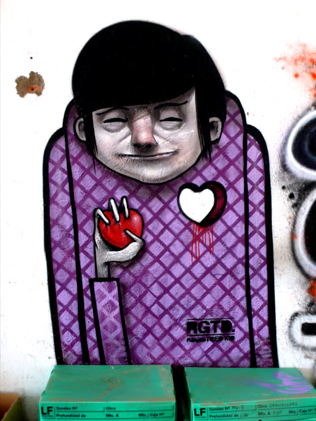 Œuvre Par Registred Kid à Barcelone