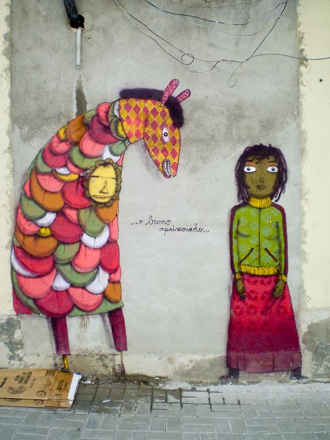 Artwork By Os Gemeos in São Paulo