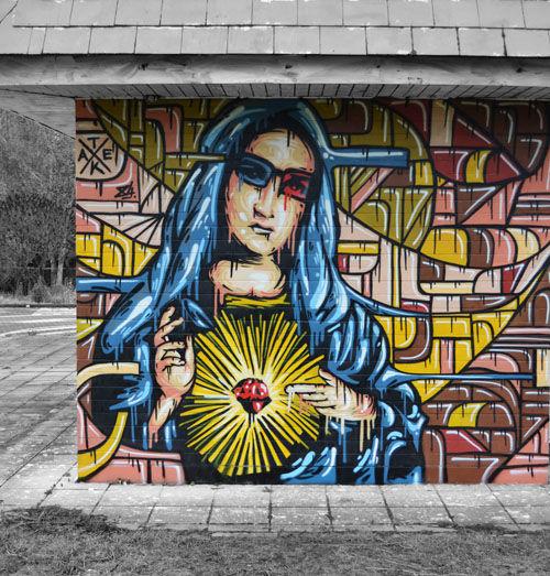 Artwork By Tom Herck in Sint-Truiden