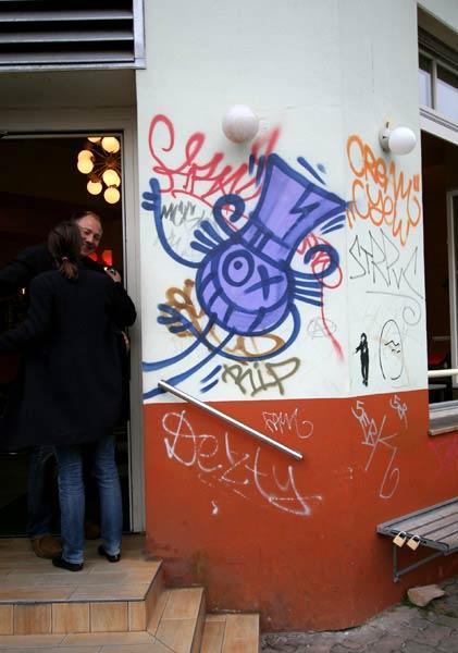 Œuvre Par Andre Saraiva à Berlin
