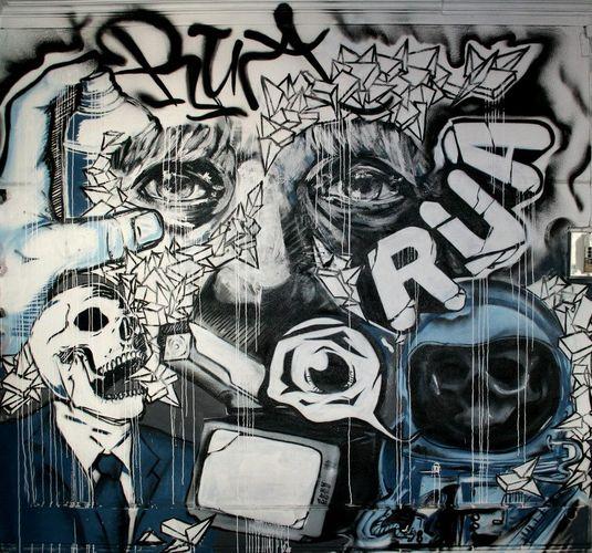 Œuvre Par Draw à Porto
