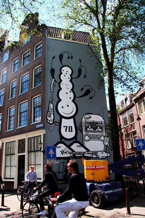 Œuvre Par The London Police à Amsterdam