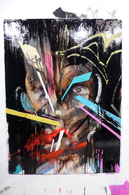 Œuvre Par Remi Rough, Jaybo Monk à Berlin (Personnages, Abstrait)