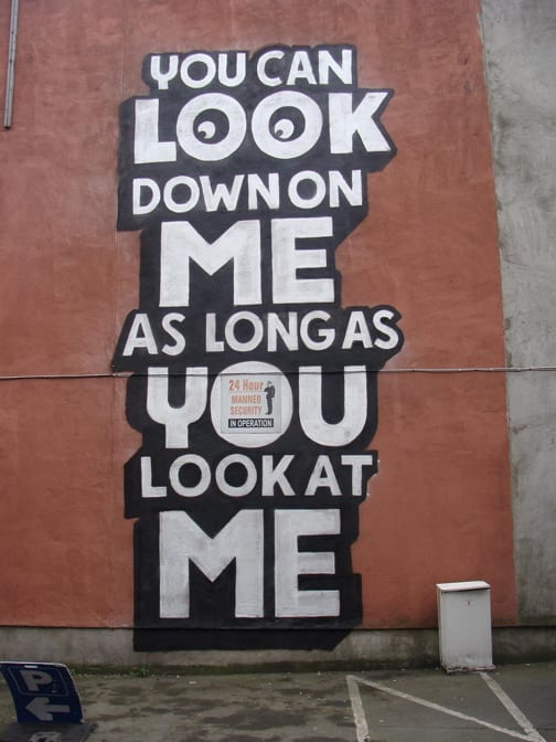 Artwork By Steve Powers in Dublin